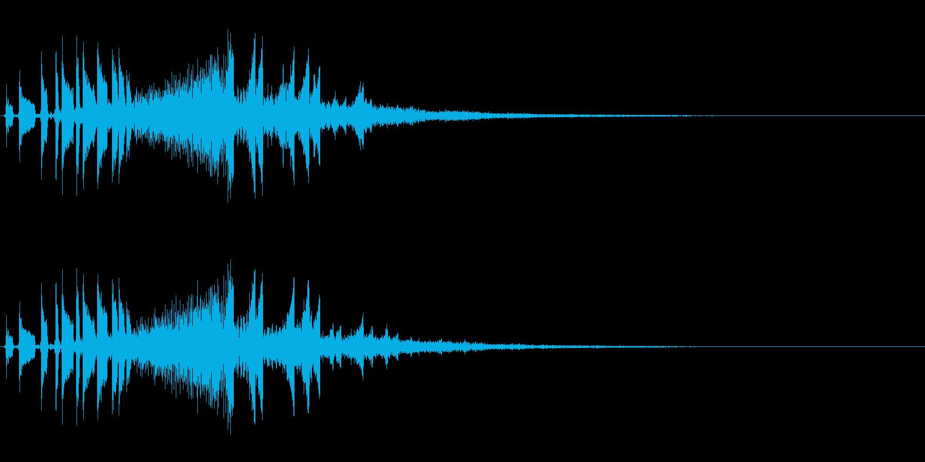 流れ星のようなキラキラ系SE-01の再生済みの波形