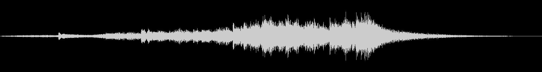 優雅な和風サウンド琴のマルチフレーズ3の未再生の波形