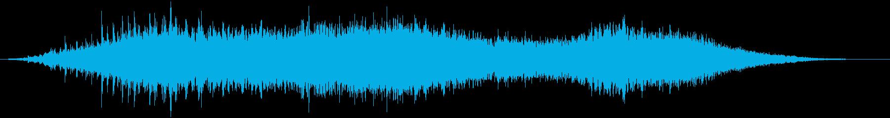 【ホラー】ダークなタイトルロゴ_02の再生済みの波形