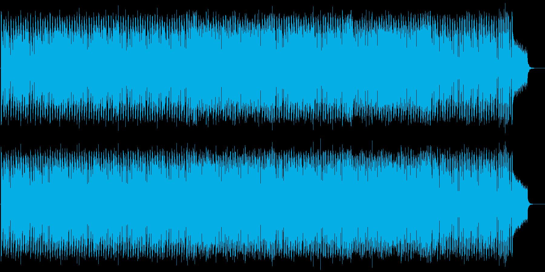 爽やかで疾走感溢れるメロディーの再生済みの波形