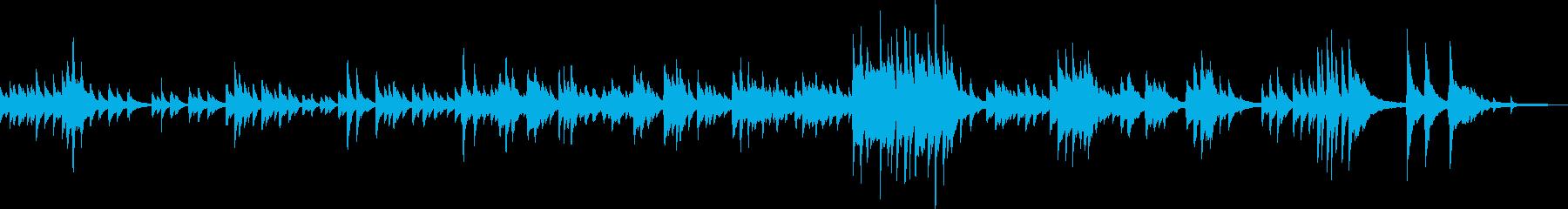 しっとり優しいピアノ曲(落ち着く・感動)の再生済みの波形