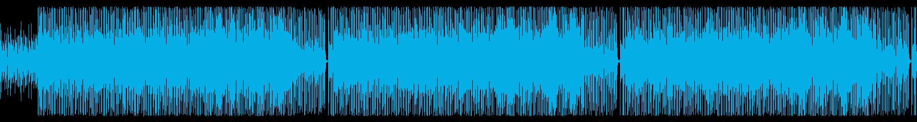 【ループ版】YouTube アコギの再生済みの波形