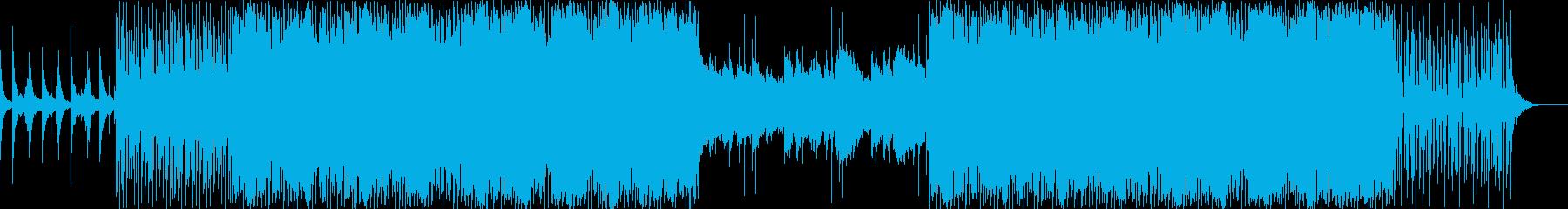 bpm115 暖かな男性ボーカルEDMの再生済みの波形