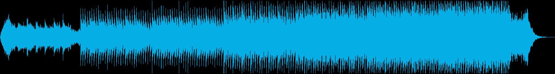 懐かしい優しいアコースティックソングの再生済みの波形