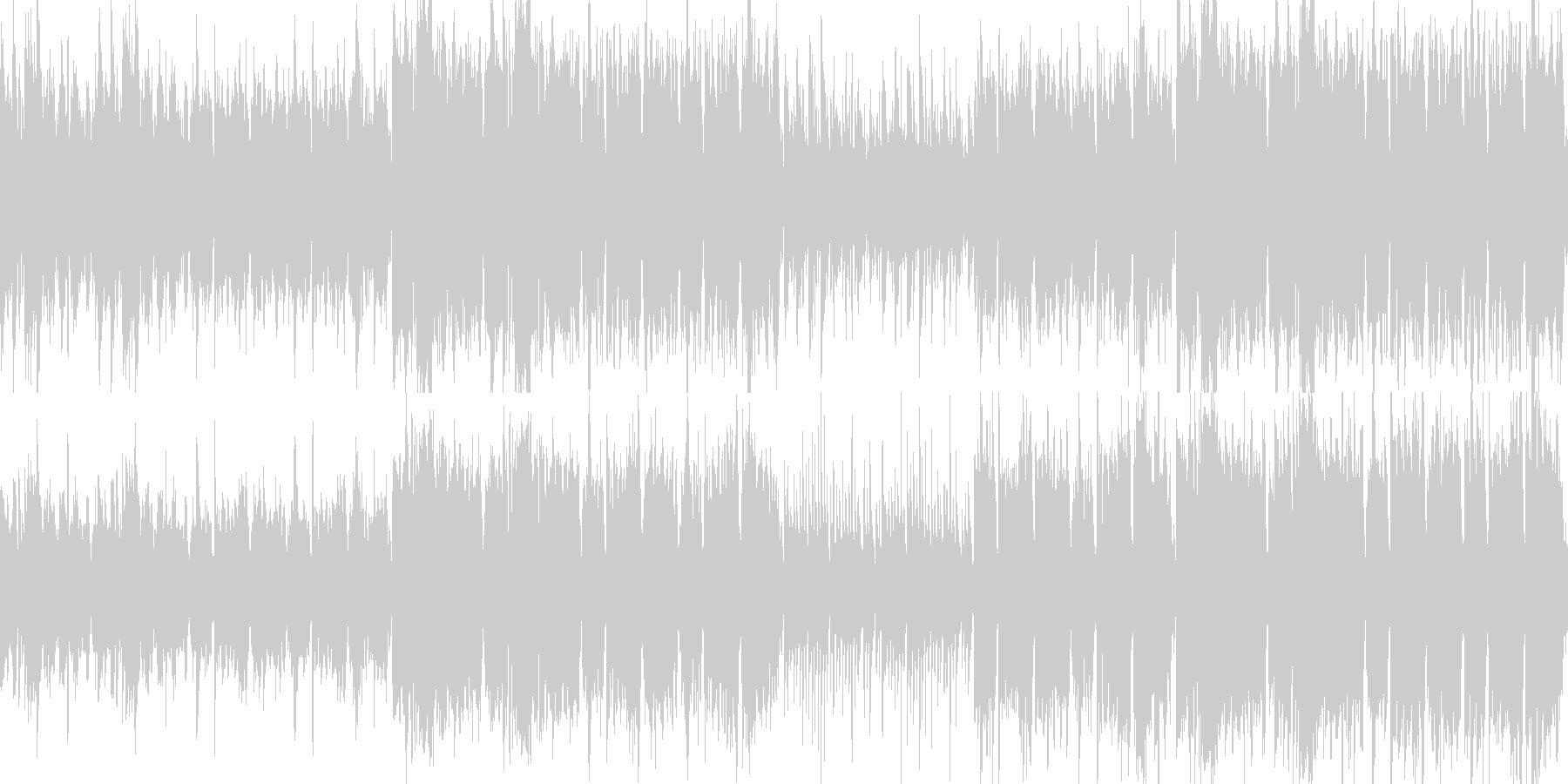 ループ:軽快なアイリッシュ伝統音楽風の未再生の波形