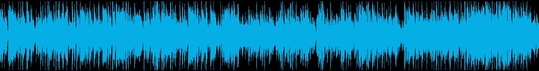 ショータイム、カジノ風味ジャズ※ループ版の再生済みの波形