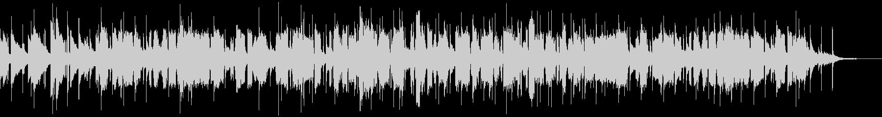 イングリッシュホルンによる叙情的な曲の未再生の波形