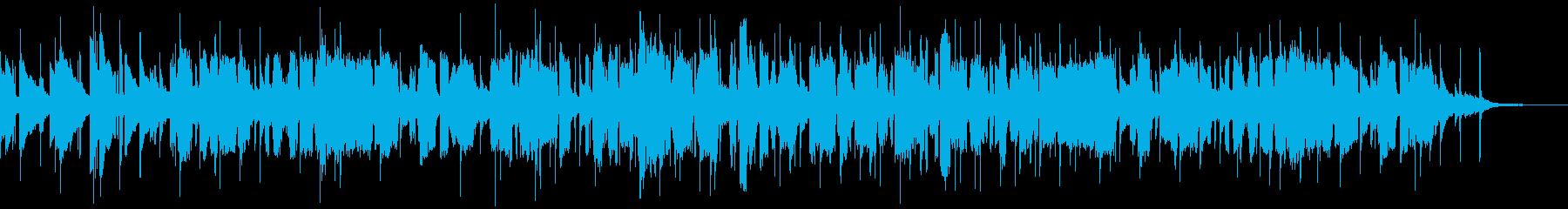 イングリッシュホルンによる叙情的な曲の再生済みの波形
