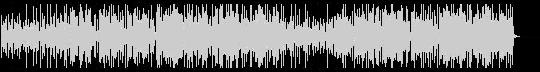 勢いがあるアップテンポで可愛いBGMの未再生の波形