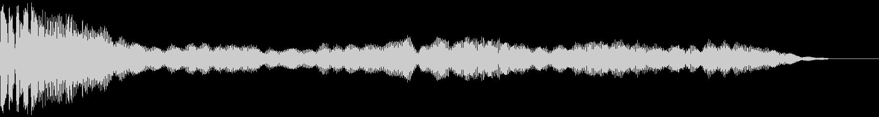 ヒットスペースベルの未再生の波形