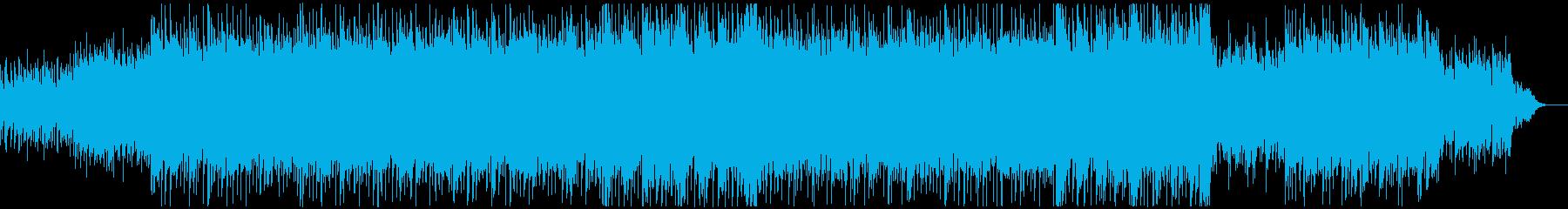 エスニカルな紀行ものBGMの再生済みの波形