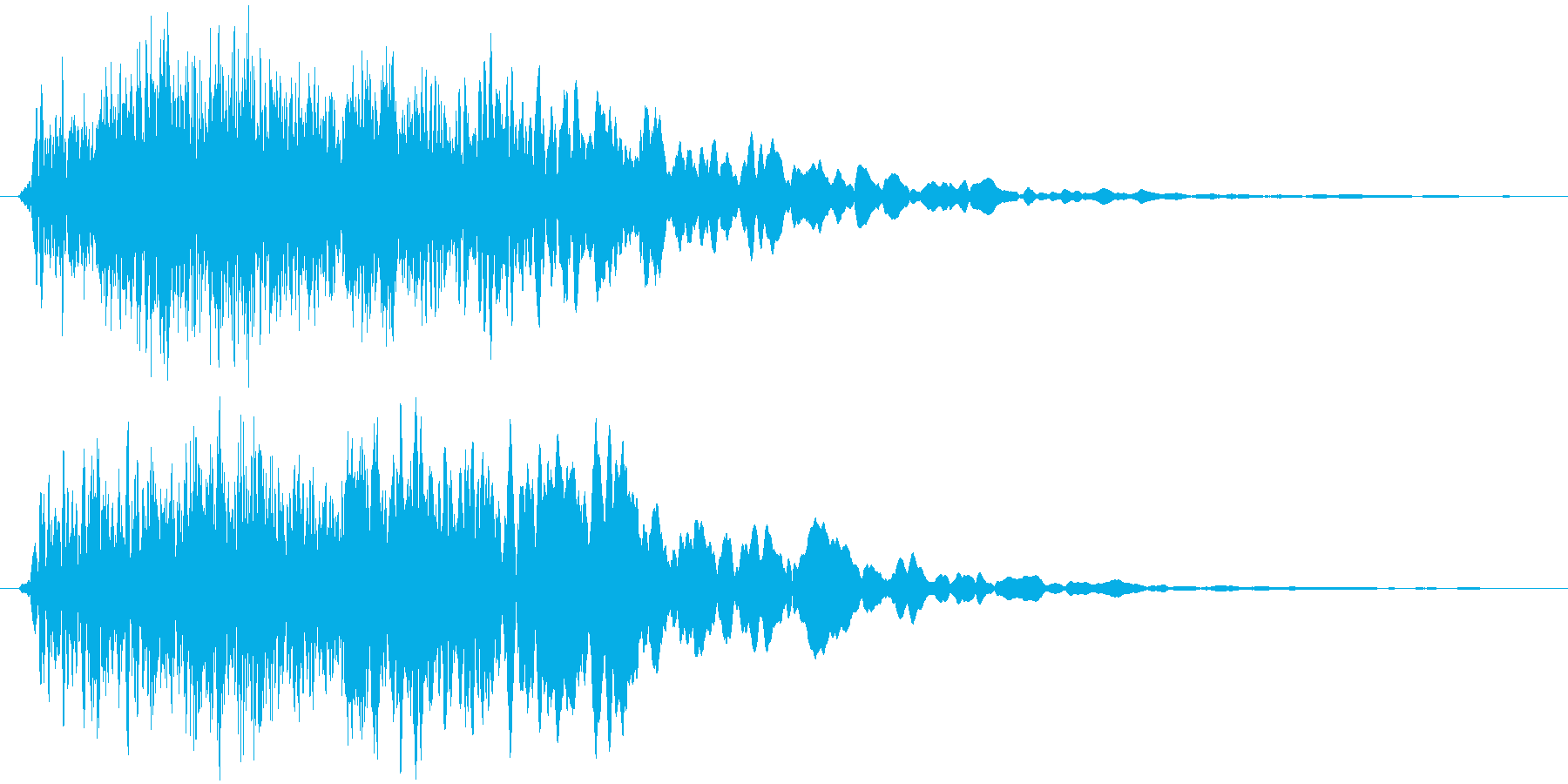 クワーイーン。プテラノドンとかそんな感…の再生済みの波形