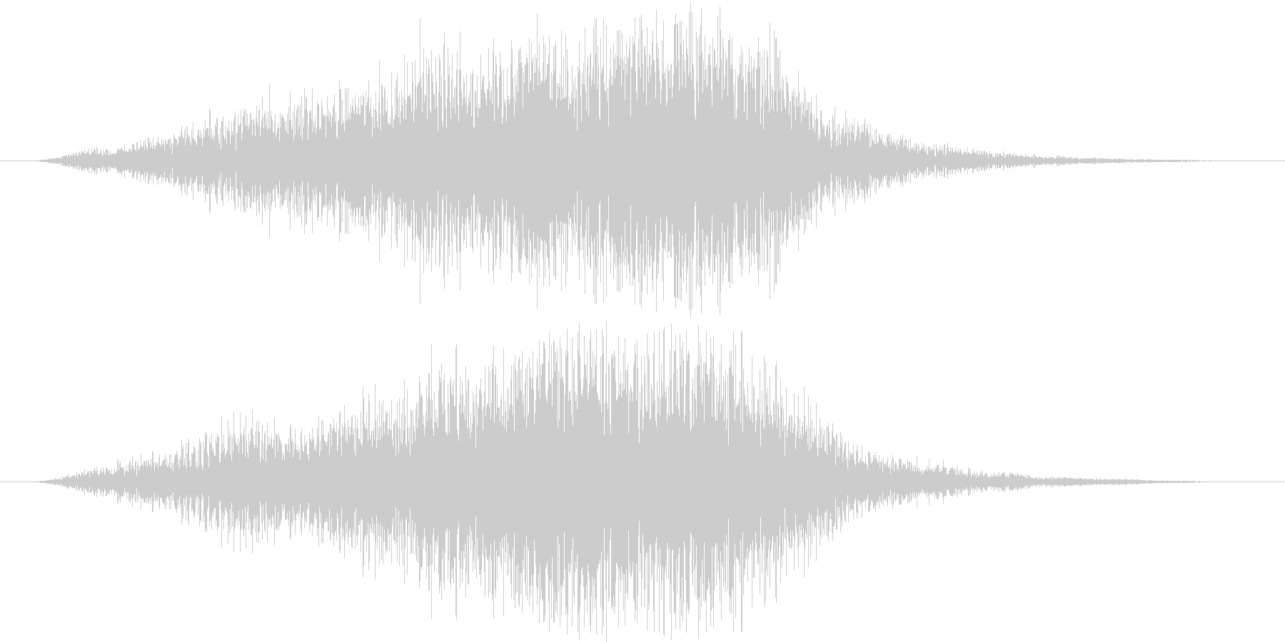 フワーーーン(サスペンス的)の未再生の波形