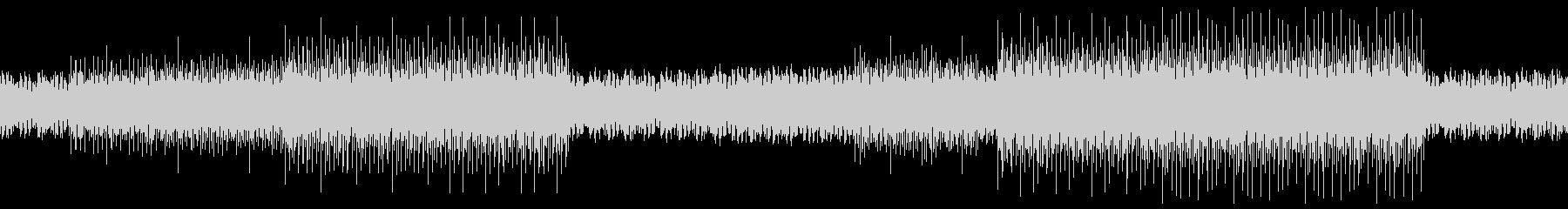 【ループ対応】エレクトロニカBGMの未再生の波形