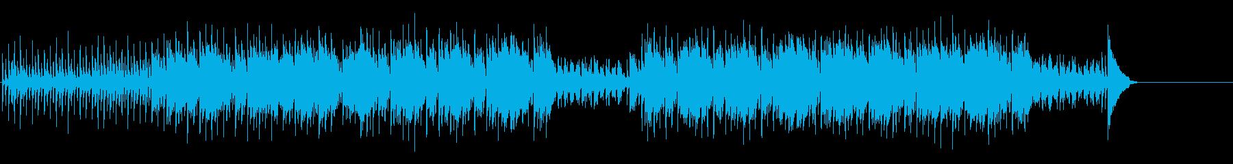 南洋ムード伴うしなやかなポップの再生済みの波形