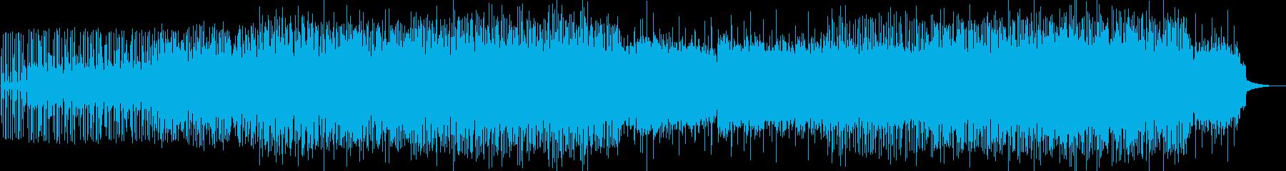 怪しく狂気じみたサイケデリックロックの再生済みの波形
