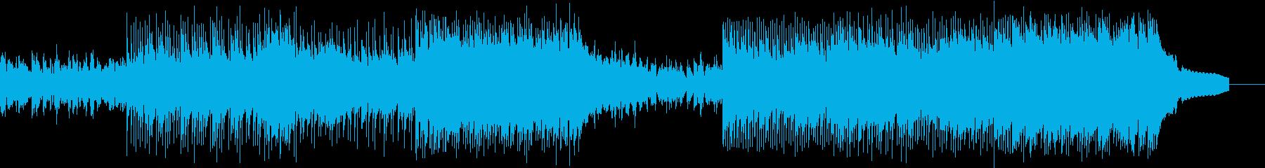 ポップ アクション 技術的な 感情...の再生済みの波形