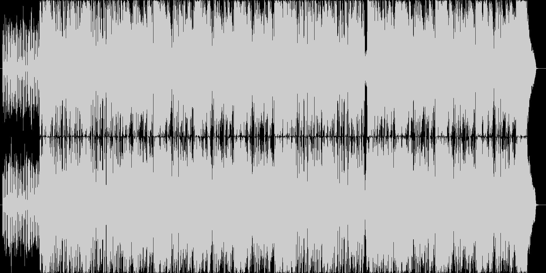 派手でクールな雰囲気のDubstepの未再生の波形