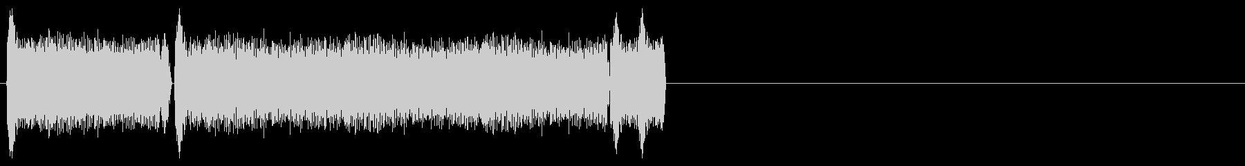 サーボB、ビシャスの未再生の波形