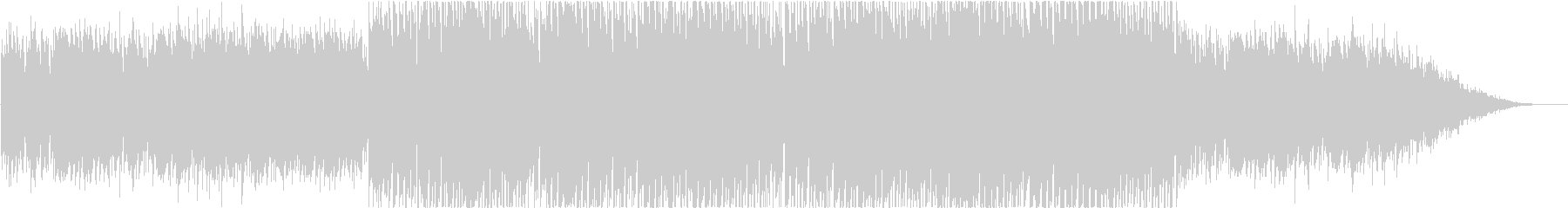 ポジティブで音響的なバックグラウンドトラの未再生の波形