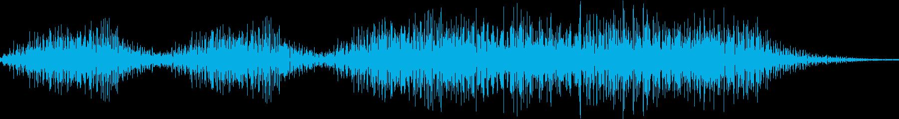 成功音の再生済みの波形