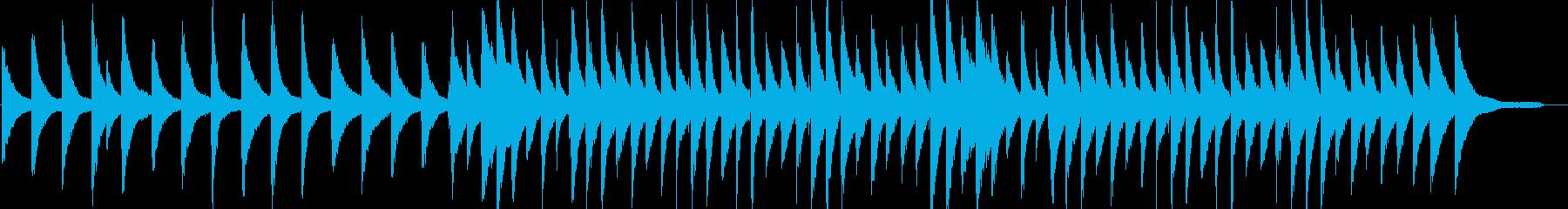 リラックス・ジャズ・映像・イベント用の再生済みの波形