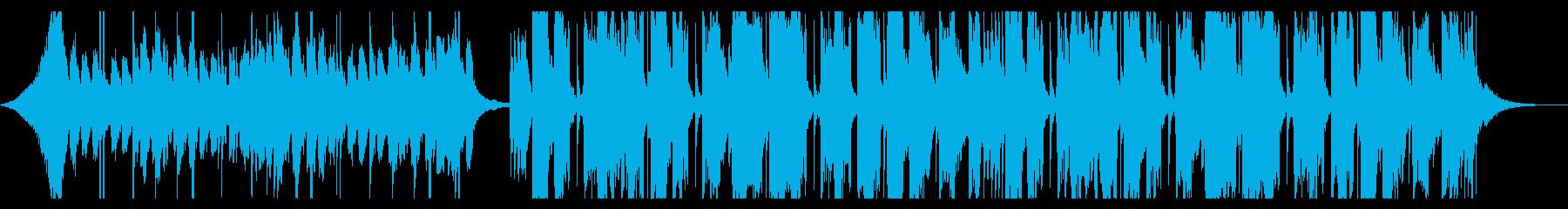 新しい何かが始まりそうな爽やかEDMの再生済みの波形