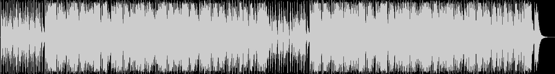 スパイ・ミッション・コミカルBGMの未再生の波形