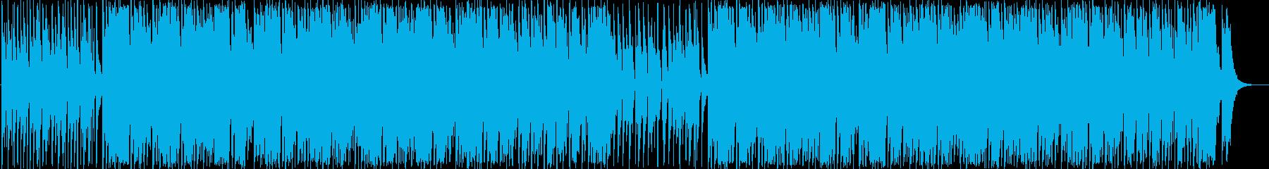 スパイ・ミッション・コミカルBGMの再生済みの波形