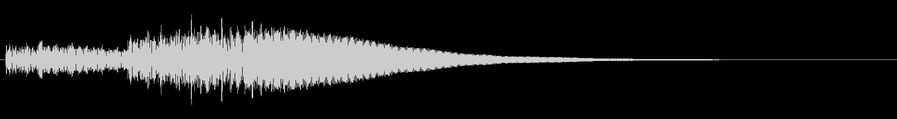 和太鼓Roll「どどどど…どん!」01の未再生の波形