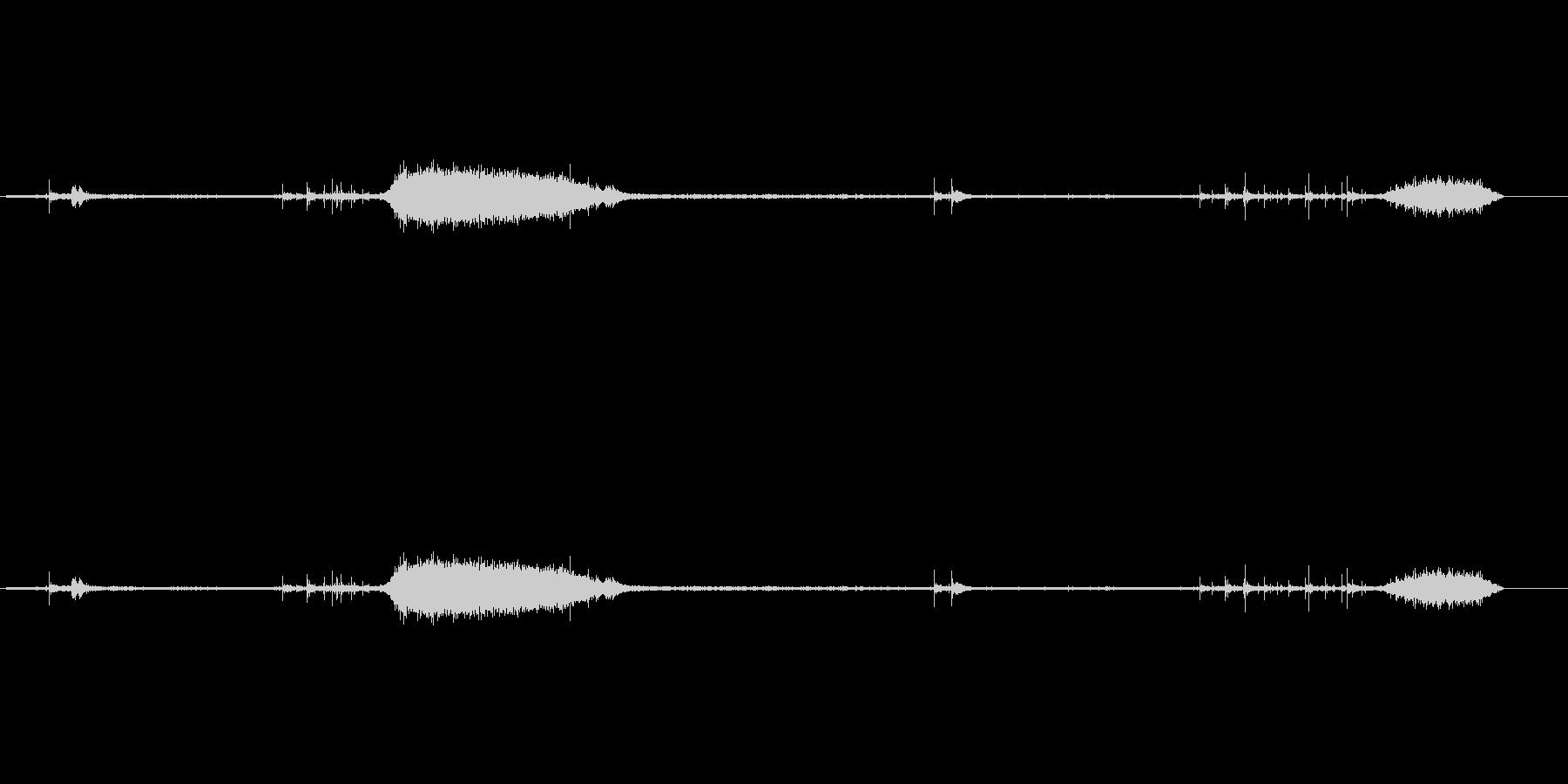 モールス電信4の未再生の波形