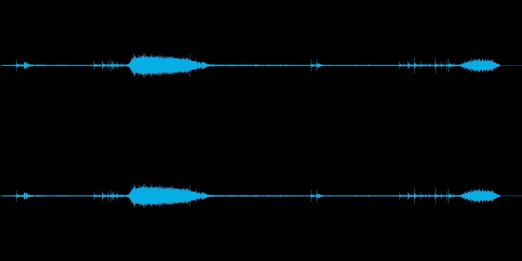 モールス電信4の再生済みの波形
