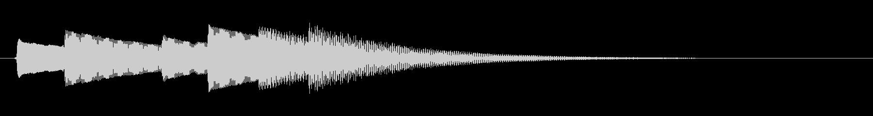 メロディックドアベルリング;ヴィン...の未再生の波形