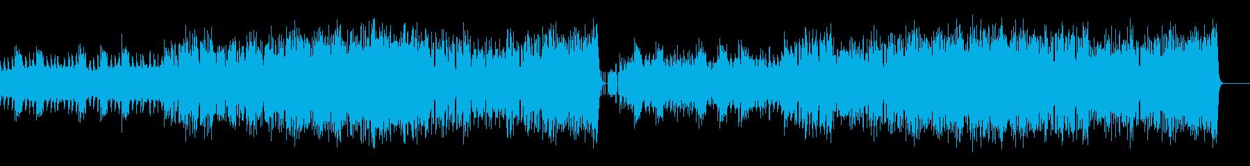 低音・没入感・陶酔感のあるBGMの再生済みの波形