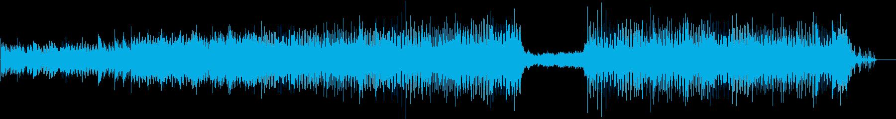 企業PV向け明るく爽やかな曲の再生済みの波形
