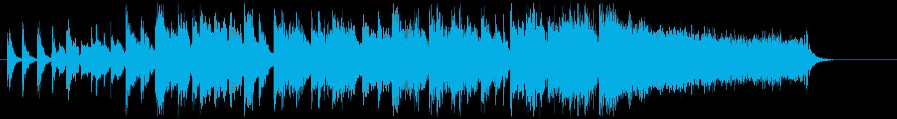 【ゲスト登場のBGM】ソウルミュージックの再生済みの波形