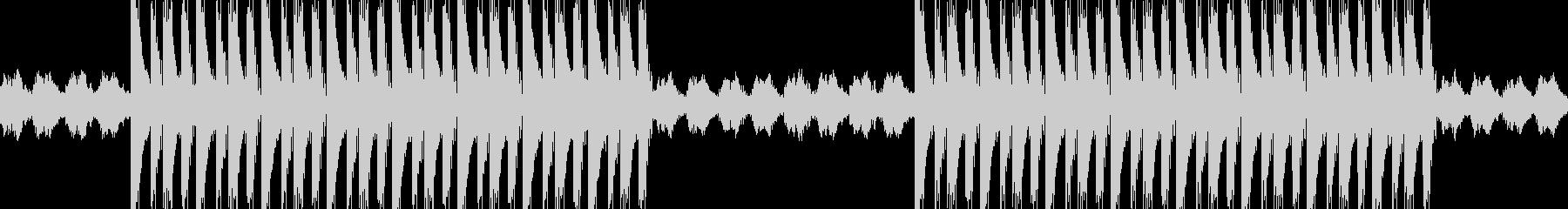 エモい感動系ヒップホップBGMの未再生の波形
