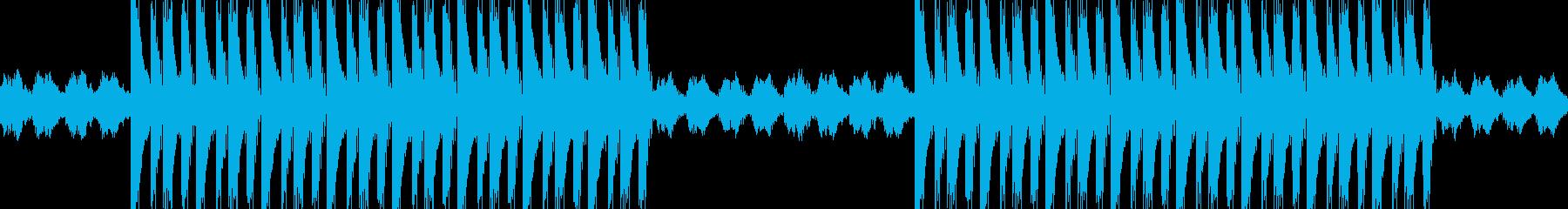 エモい感動系ヒップホップBGMの再生済みの波形