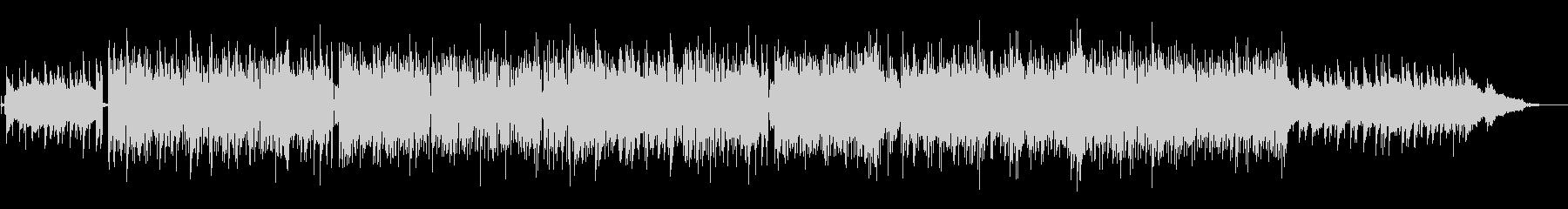 尺八の音色の軽快なBGMの未再生の波形