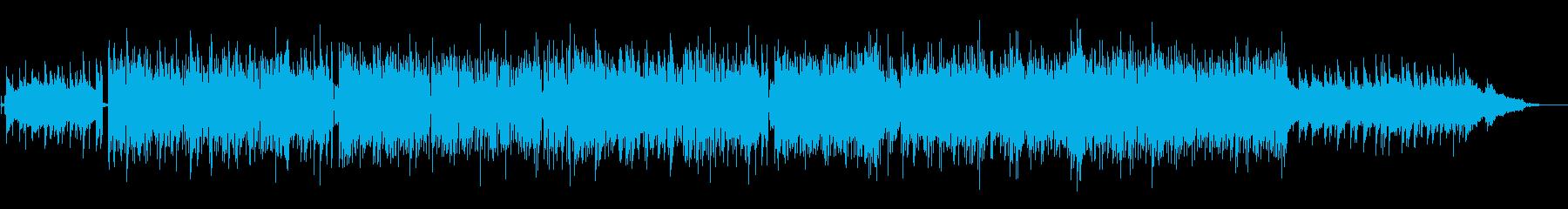 尺八の音色の軽快なBGMの再生済みの波形