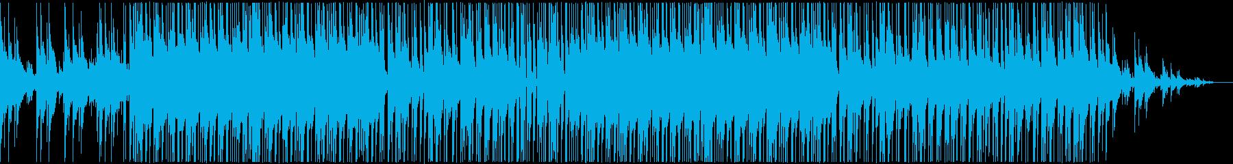 ちょっと切なくてエモいHiphopBGMの再生済みの波形