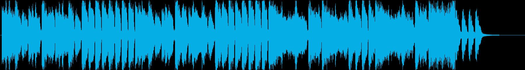 30秒】EDM とにかくハッピー感すごいの再生済みの波形