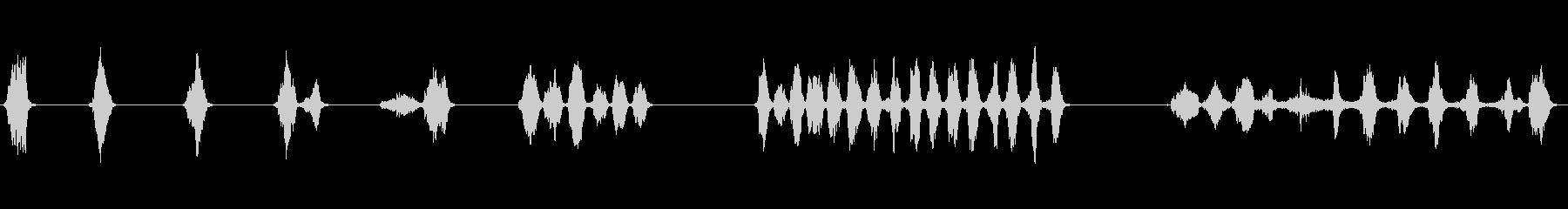 シートメタル、摩擦、きしみ、きしみ...の未再生の波形
