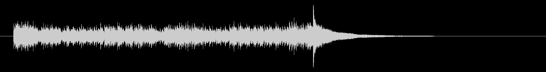 Dフラットの打楽器ティンパニロール...の未再生の波形