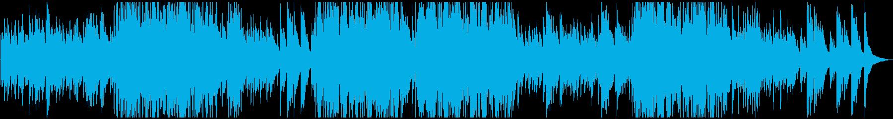 ピアノソロメロディアス。の再生済みの波形