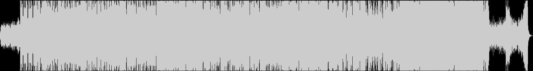 ヒップホップR&B風のポップスの未再生の波形