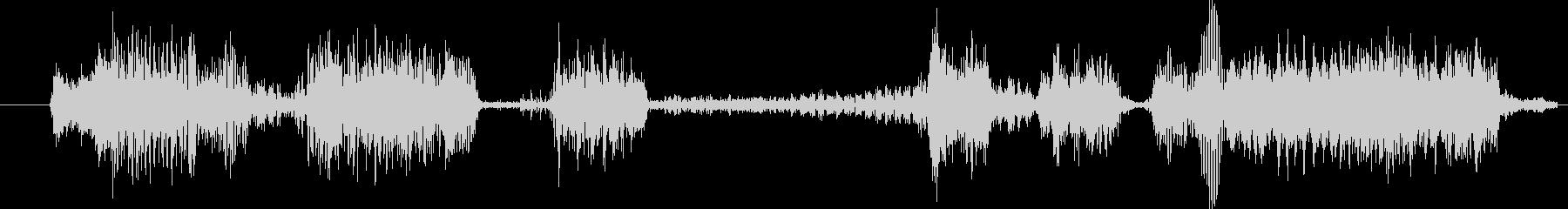 モンスター グリッチトーク02の未再生の波形