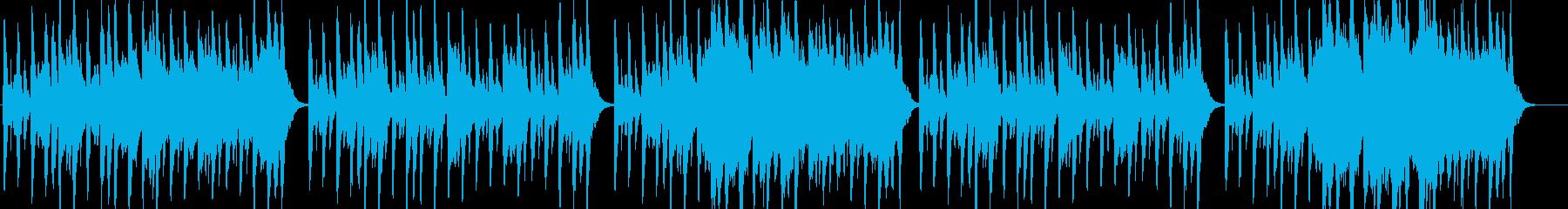 怪し弦あ雰囲気を放つハロウィン風サウンドの再生済みの波形