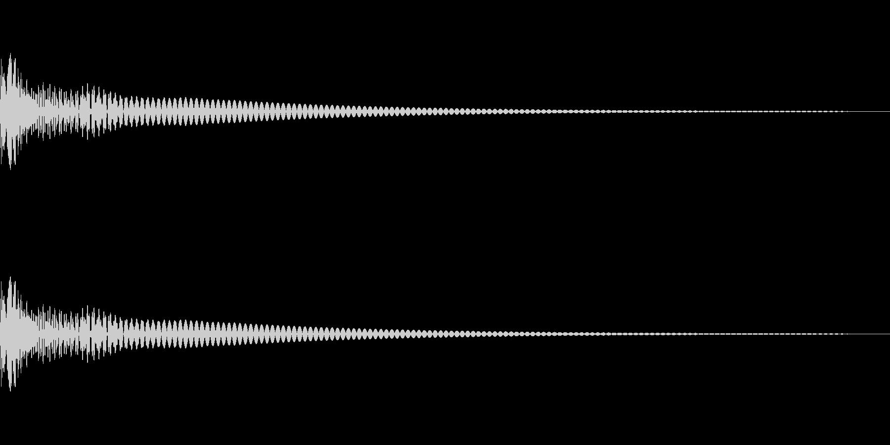 Cap フタ・栓を開ける音 9の未再生の波形