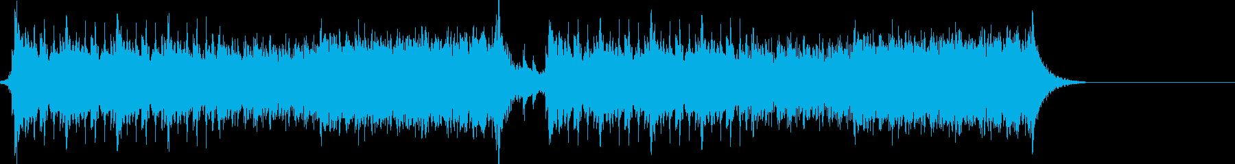 オーケストラ_ギターの再生済みの波形